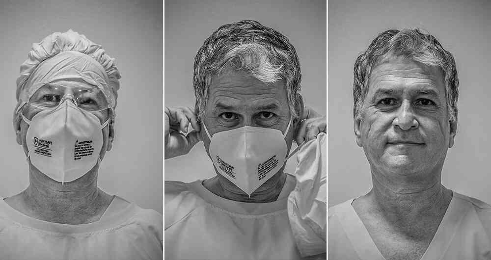 Los médicos que libran la guerra contra el coronavirus en Colombia