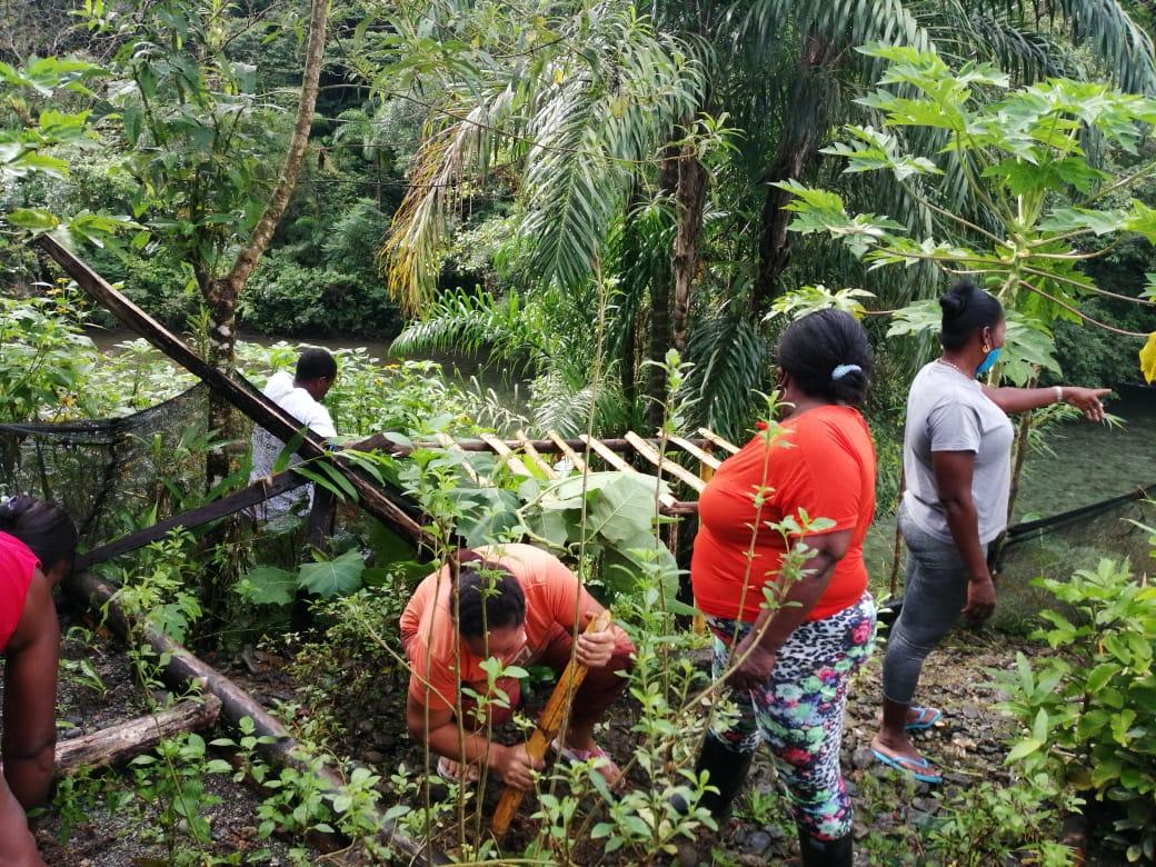 Concejo Comunitario de Agua Clara le apuesta al manejo de residuos sólidos | Noticias de Buenaventura, Colombia y el Mundo