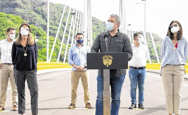 Pandemia del coronavirus en Colombia cambió la agenda del presidente Iván Duque