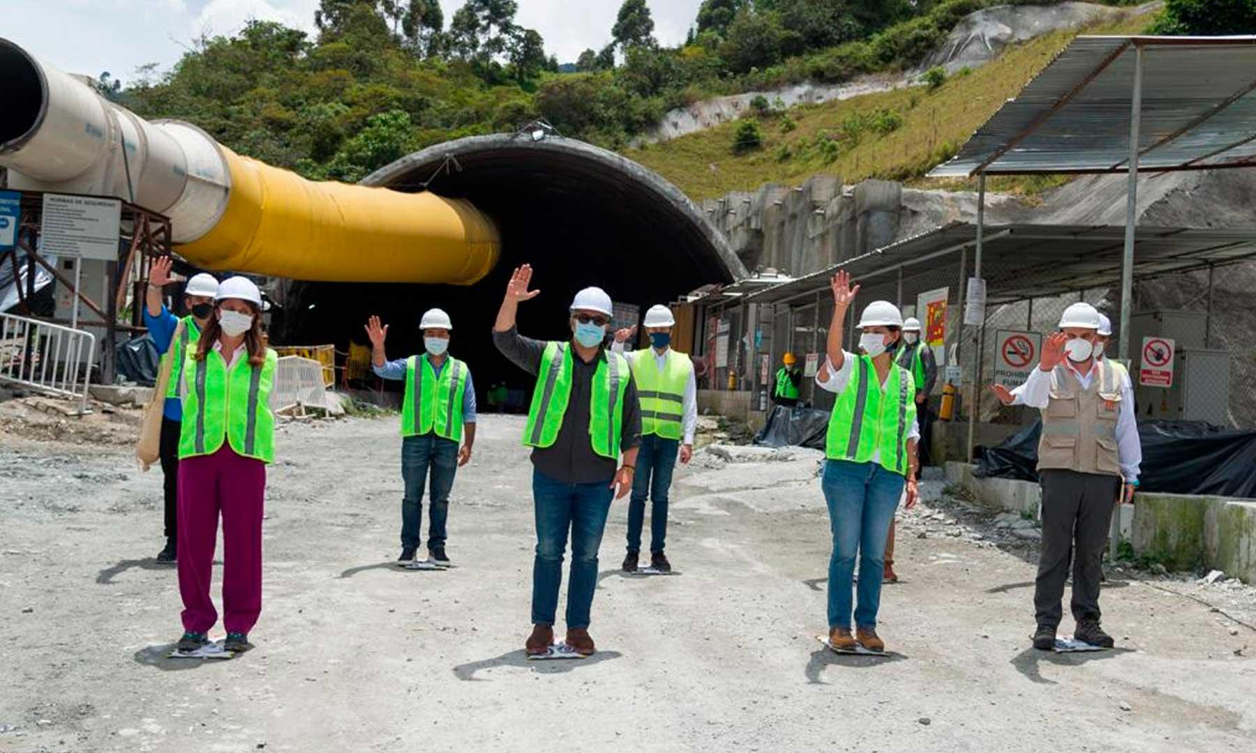ANI, infraestructura, Iván Duque, Presidente Duque, Túnel de Occidente, Colombia, emprendimiento