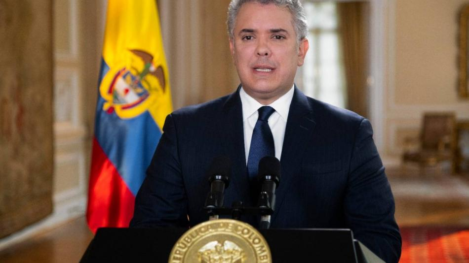 Renuncia de Álvaro Uribe: Duque le expresa su apoyo al expresidente - Gobierno - Política