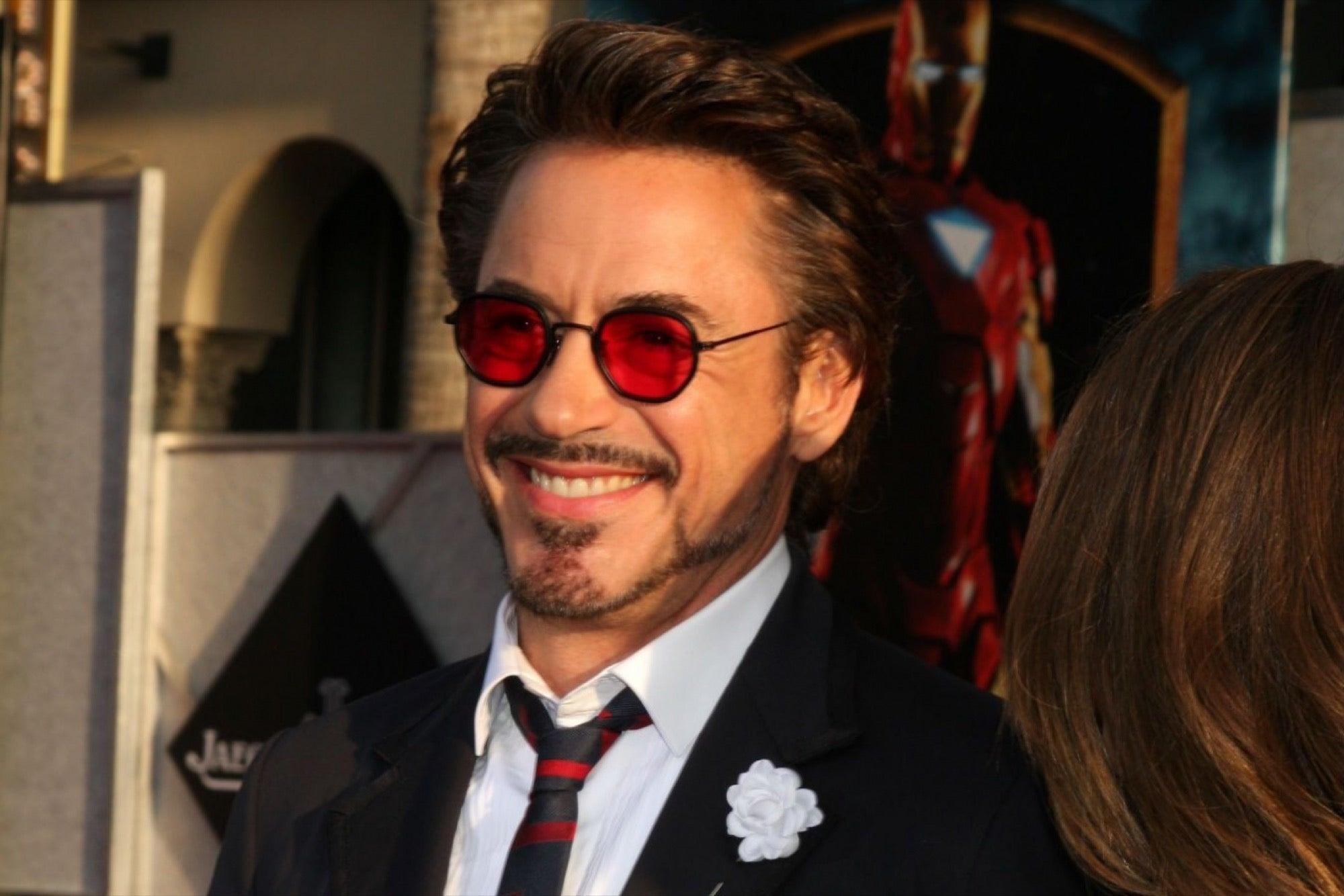 Salva tu marca al estilo Robert Downey, Jr.