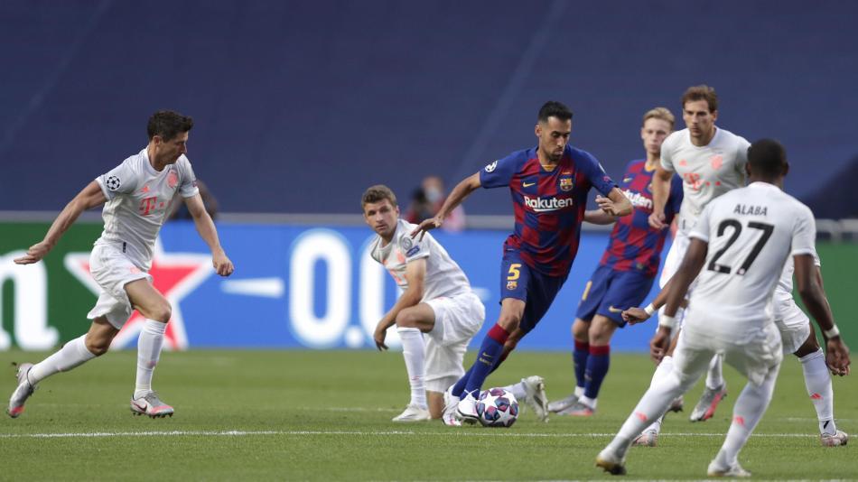 Video: los goles del partido Barcelona vs. Bayern Múnich, Liga de Campeones - Fútbol Internacional - Deportes