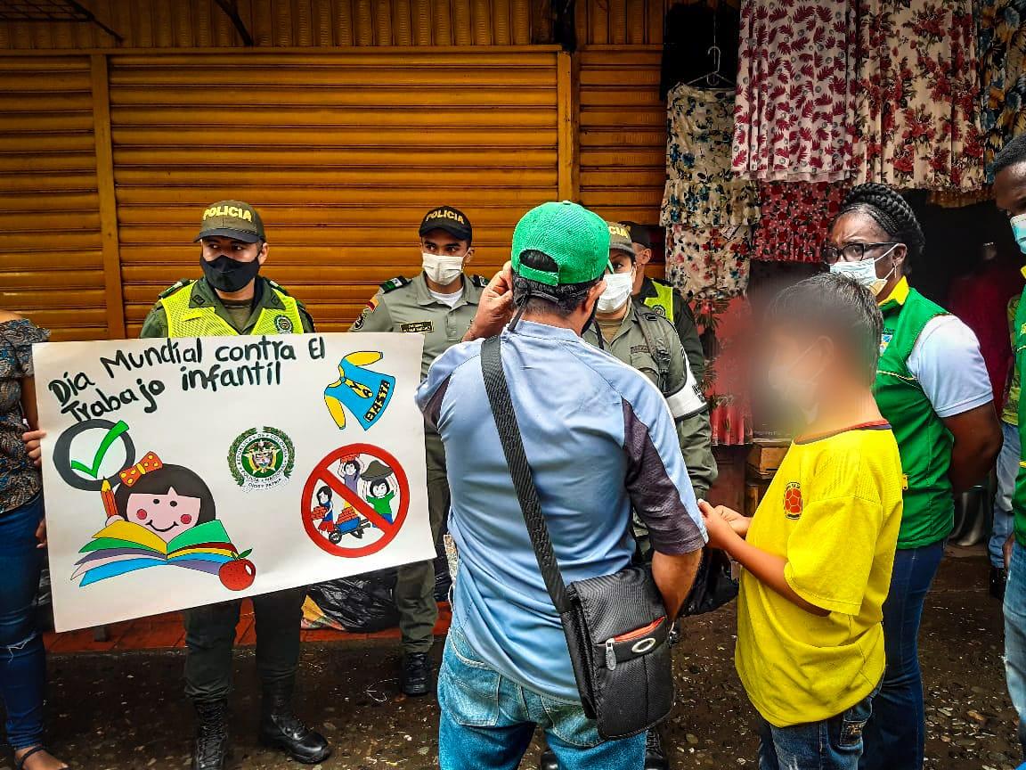 Realizan control y verificación del trabajo infantil en zona comercial de Buenaventura | Noticias de Buenaventura, Colombia y el Mundo