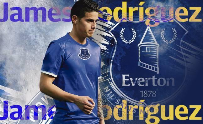 ¡Un paso seguro! Expertos dicen que el Everton sería un buen destino para James Rodríguez