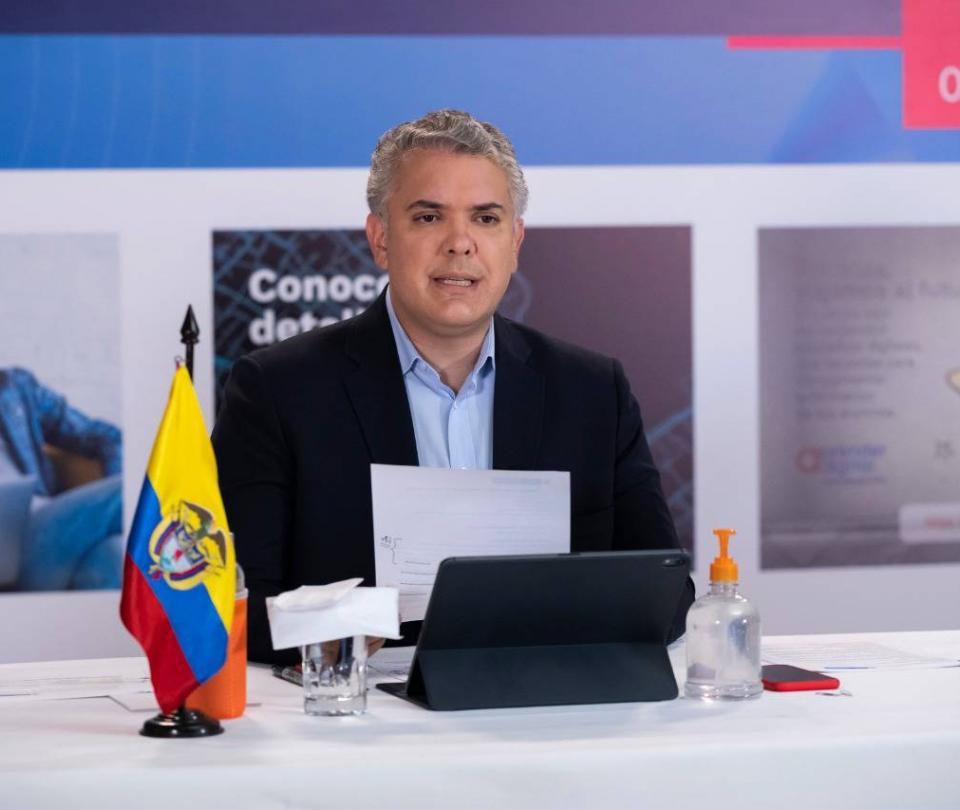 ¿Cuántos colombianos aprueban la gestión del presidente Duque y la alcaldesa Claudia López? - Gobierno - Política