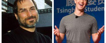Quién muestra el mejor liderazgo: ¿Steve Jobs o Mark Zuckerberg?