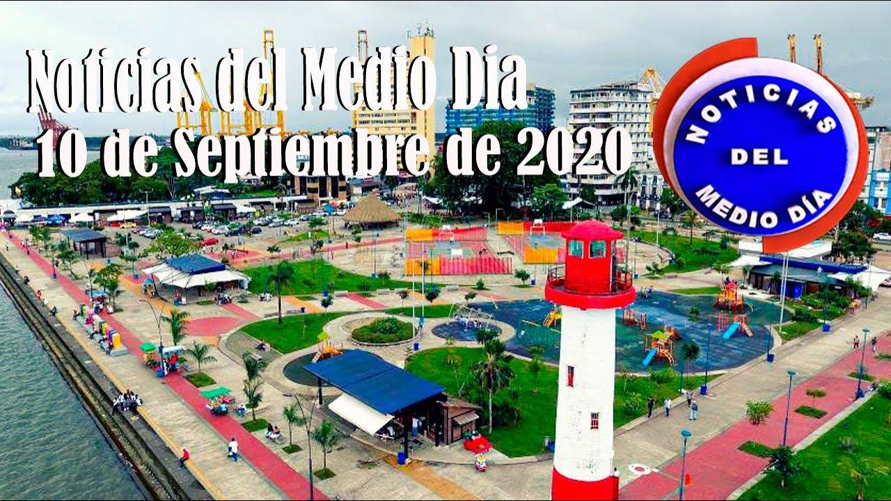 Noticiero de medio día Buenaventura 10 de Septiembre de 2020 | Noticias de Buenaventura, Colombia y el Mundo
