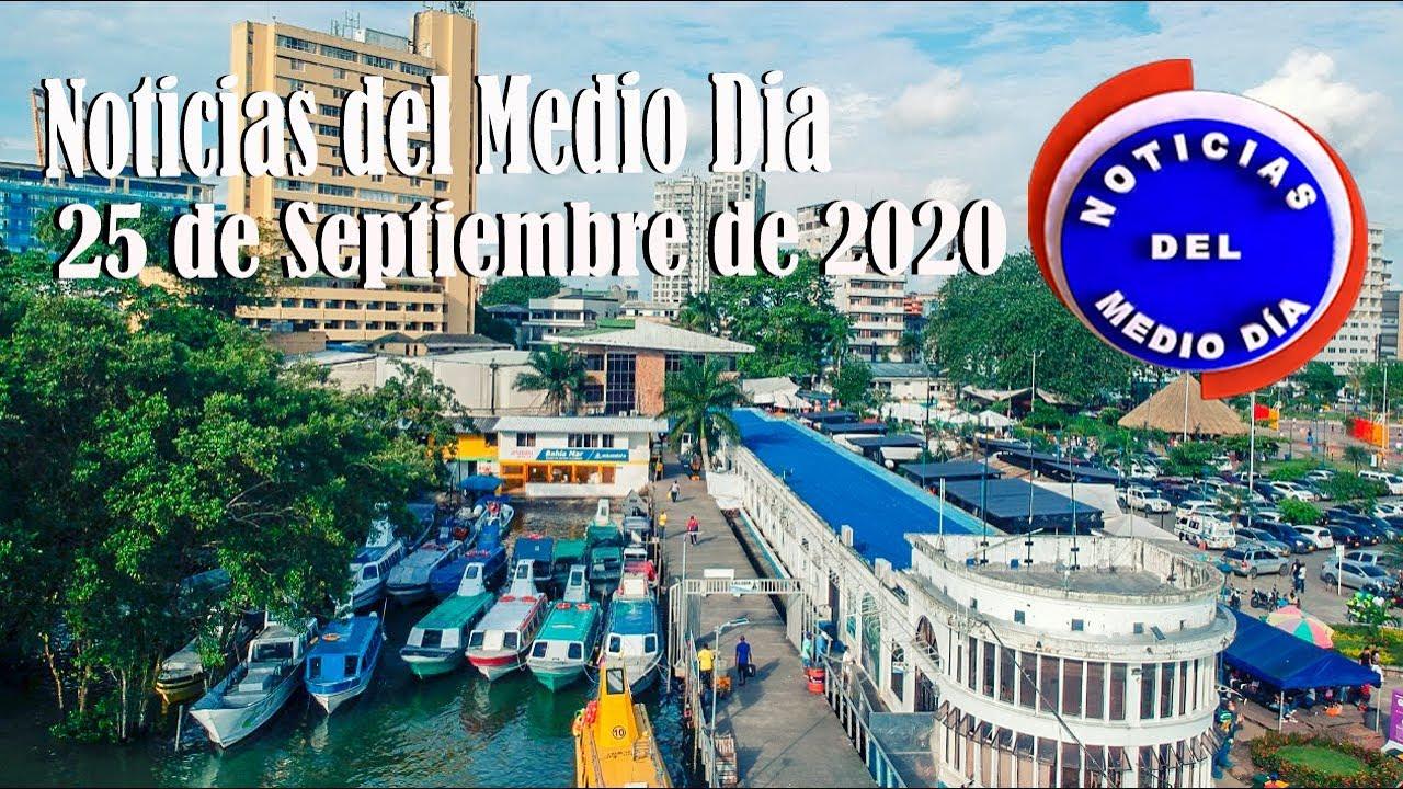 Noticiero de medio día Buenaventura 25 de Septiembre de 2020 | Noticias de Buenaventura, Colombia y el Mundo