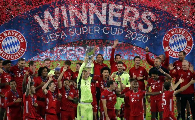 Bayern Múnich, campeón de la Supercopa de Europa tras vencer al Sevilla