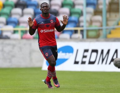 Colombiano Brayan Riascos, figura de Nacional Madeira: lleva dos goles en el fútbol de Portugal