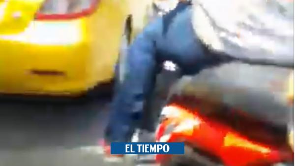 Buscan a presunto sicario que grabó lo que sería un crimen - Cali - Colombia