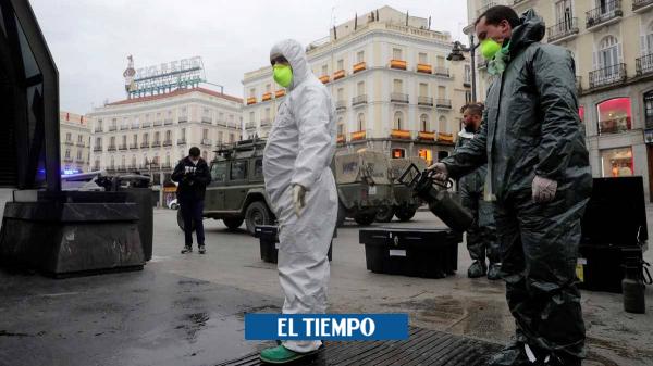 Cómo se vive por dentro la nueva ola de la pandemia en España - Europa - Internacional