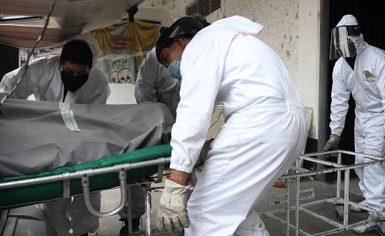 Descendieron 39% las muertes por COVID-19 en México durante las últimas dos semanas (Foto: EFE/Sáshenka Gutiérrez)