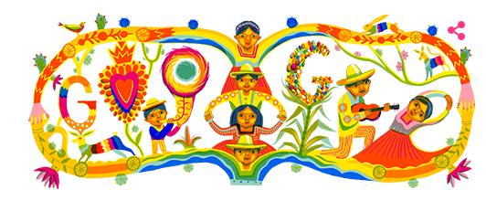 doodle independencia-méxico-160920