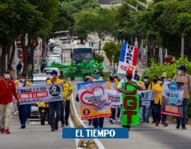 Gustavo Petro y Carlos Holmes y otras batallas de las marchas de este 21 de septiembre - Gobierno - Política