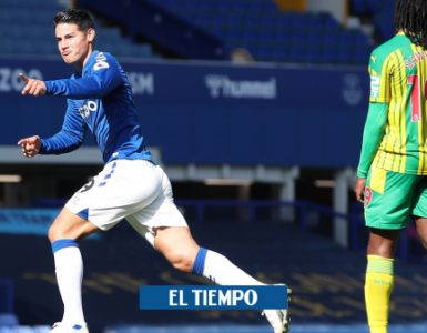 James fue calificado con 10 puntos por la agencia de estadísticas 365 scores - Fútbol Internacional - Deportes