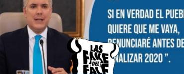 La falsa versión de la renuncia del presidente Iván Duque - Política