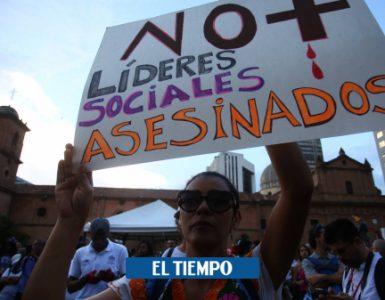 Líderes sociales asesinados en Colombia en 2020 - Gobierno - Política