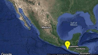 El Sismológico Nacional reportó múltiples movimientos al sur de México (Foto: Twitter @SismologicoMX)