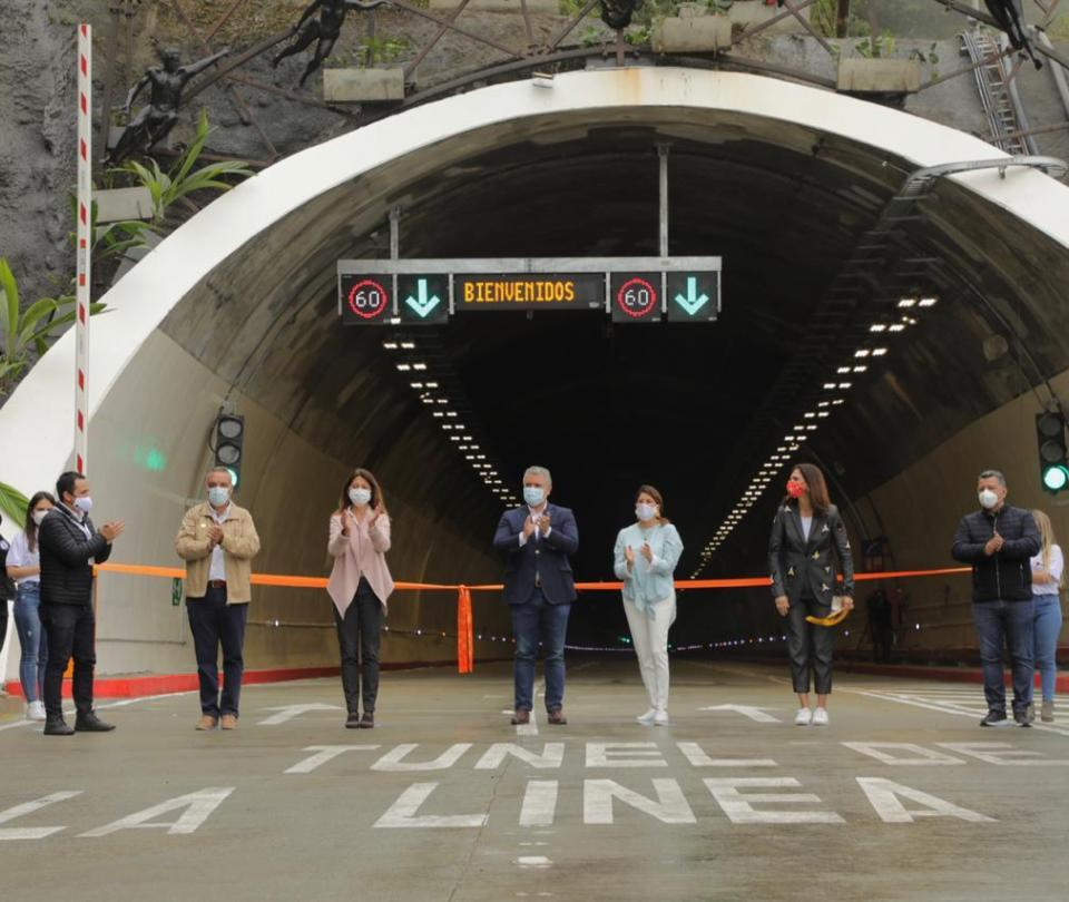 Túnel de La Línea: con la inauguración comienza ahorro de 21 kilómetros y 50 minutos de recorrido - Sectores - Economía