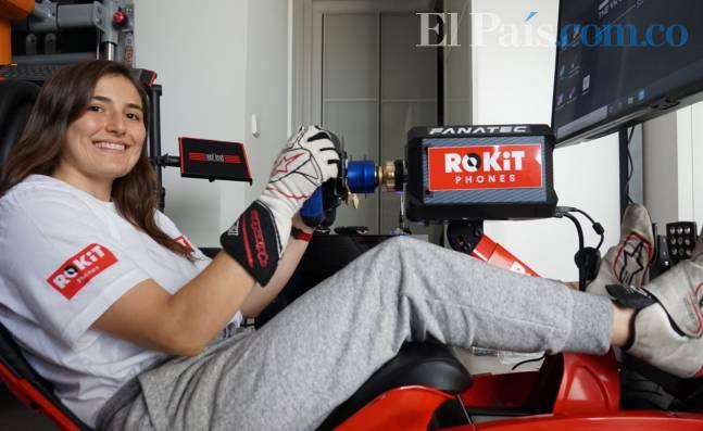 Tatiana Calderón va por la carrera de su vida en las míticas 24 Horas de Le Mans