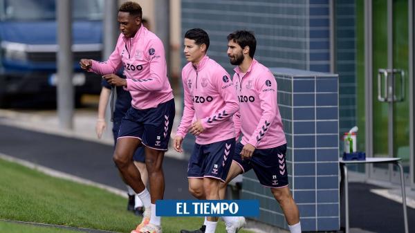 Tottenham vs Everton en vivo Premier League siga el minuto a minuto en directo James Rodríguez - Fútbol Internacional - Deportes