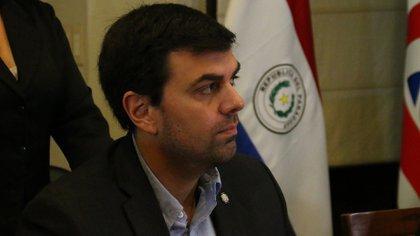 El presidente del club Olimpia, Marco Trovato (EFE)