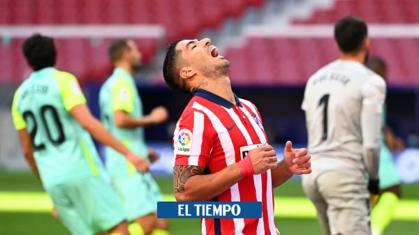 Video: dos goles de Luis Suárez con Attlético de Madrid, y críticas a Josep Maria Bartomeu - Fútbol Internacional - Deportes