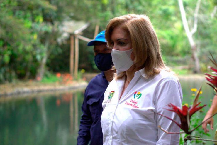 Voces de apoyo a la Gobernadora del Valle tras confirmar que tiene cáncer linfático