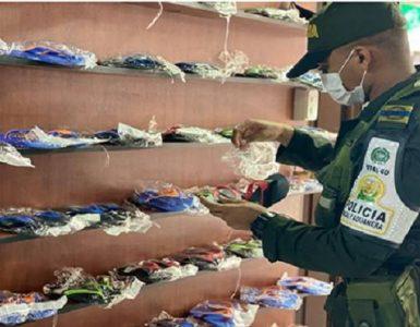 Calzado de contrabando en Buenaventura