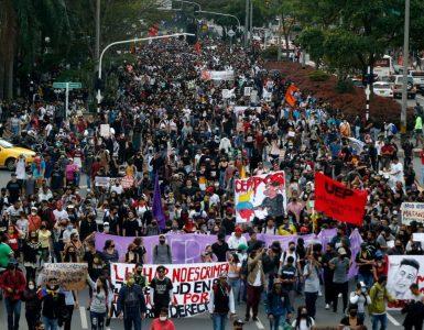 protestas: Listo borrador de protocolos del Gobierno para la Policía - Gobierno - Política