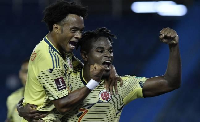 ¡Para ilusionarse! Selección Colombia tuvo un debut goleador en la eliminatoria al arrollar a Venezuela