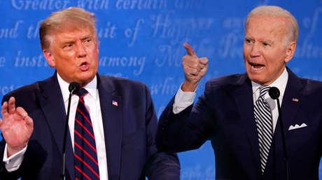Un país apocalíptico o la geopolítica como insulto: La estela que deja el primer debate presidencial en EE.UU.