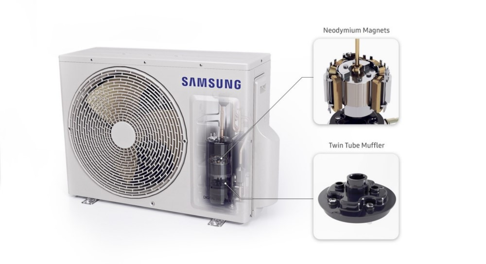 Los beneficios de la tecnología Wind-Free™ del aire acondicionado de Samsung
