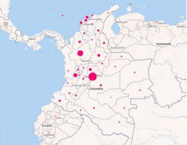 Mapa del coronavirus