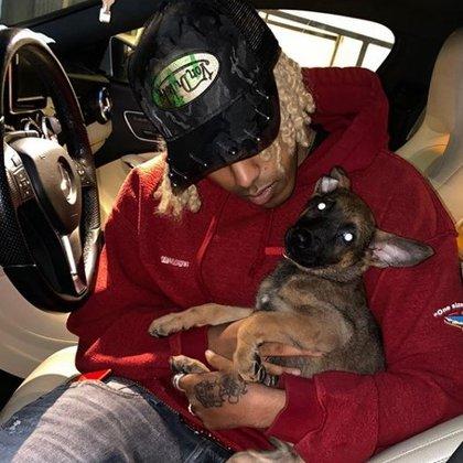 Después de varios días, Glomula publicó videos divirtiéndose con el cachorro y algunas fotos juntos (Foto: Instagram/ @mulaflare)