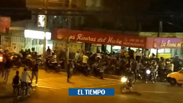 Asesinan a un hombre al interior de un restaurante en el barrio La Nueva Floresta - Cali - Colombia