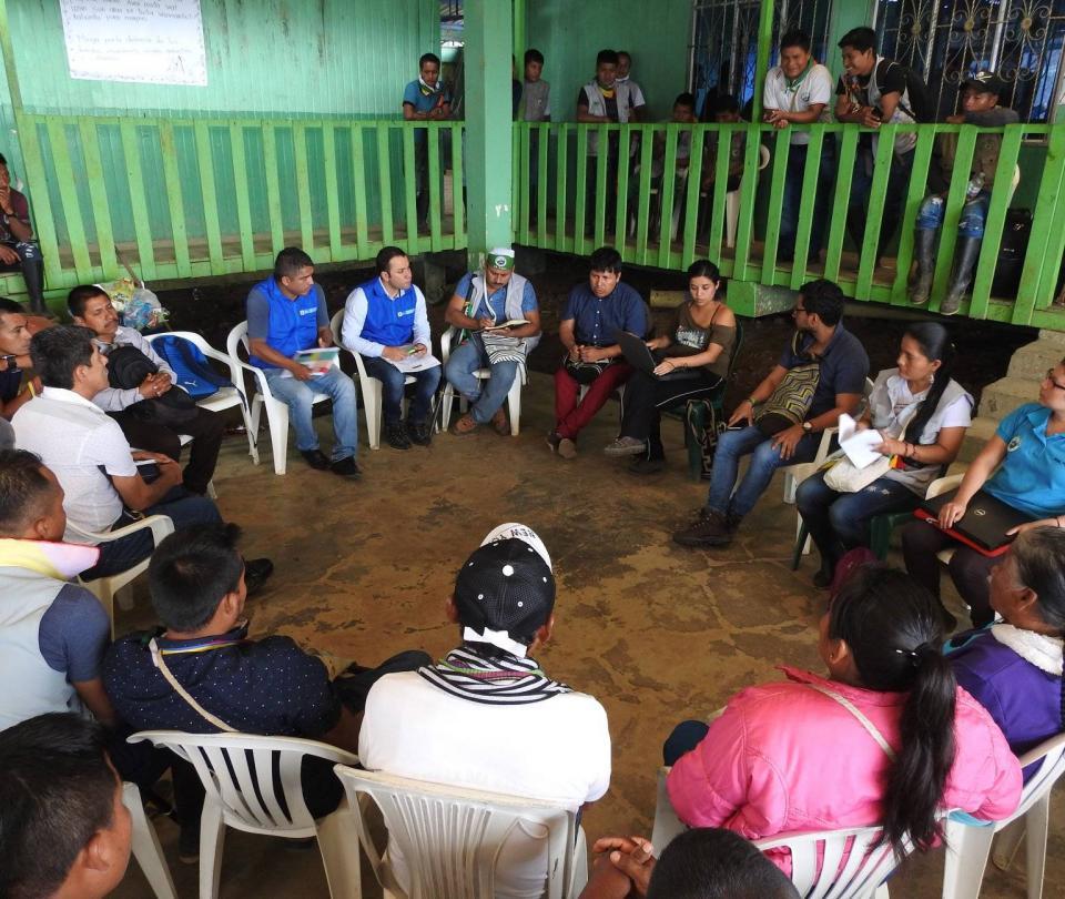 Asesinatos y confinamiento acosan a población indígena de Nariño - Cali - Colombia
