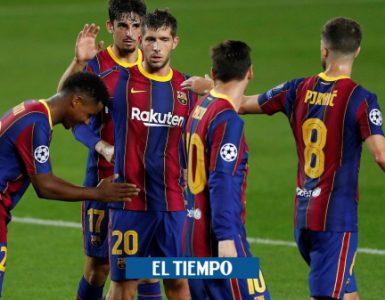 Barcelona venció 5-1 al Ferencvaros en la Liga de Campeones - Fútbol Internacional - Deportes