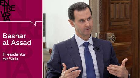 """Bashar al Assad: """"La guerra en Siria es un microcosmos de la Tercera Guerra Mundial"""""""