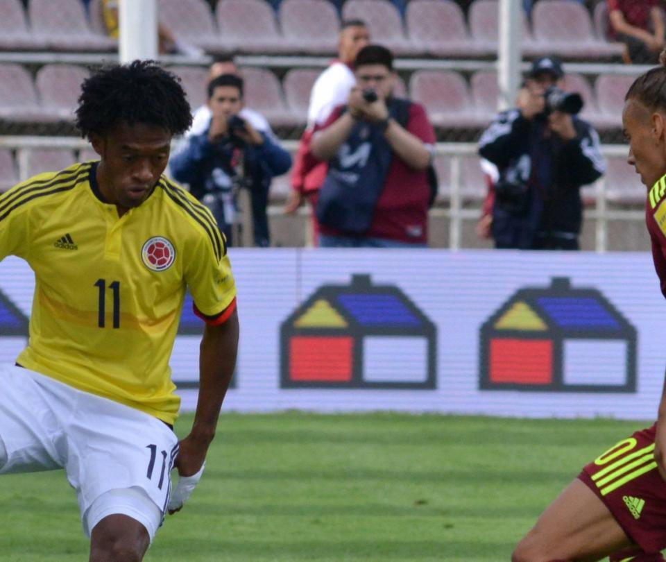 Campaña de integración entre países durante el Colombia vs. Venezuela - Fútbol Internacional - Deportes
