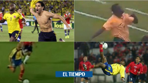 Chile vs Colombia: El 3-3 y goles que Colombia le ha hecho a Chile | Eliminatorias Catar 2022 - Fútbol Internacional - Deportes