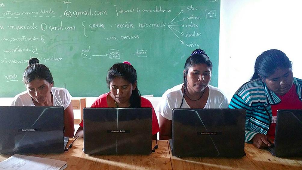 Cinco mil mujeres del Gran Chaco usan la tecnología para enfrentar el cambio climático