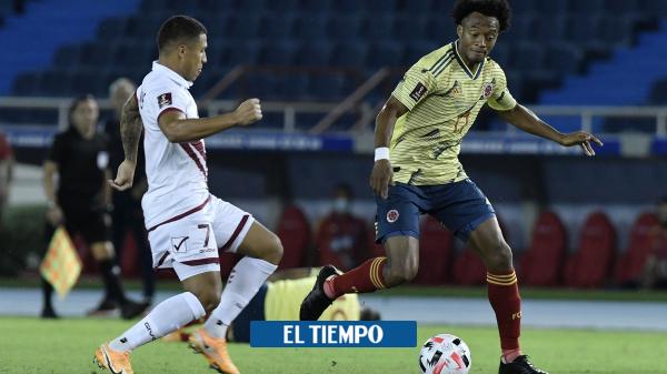 Colombia vs Venezuela en vivo: siga el directo el juego de hoy en directo - Fútbol Internacional - Deportes