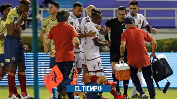 Declaraciones de Santiago Arias, tras la fractura del peroné izquierdo - Fútbol Internacional - Deportes