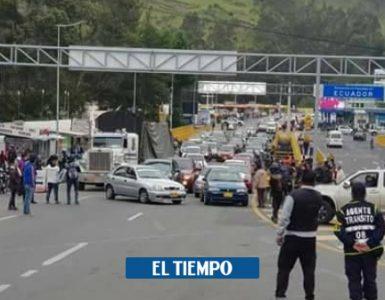 Desapariciones, la cruz que sufren en frontera de Colombia y Ecuador - Cali - Colombia