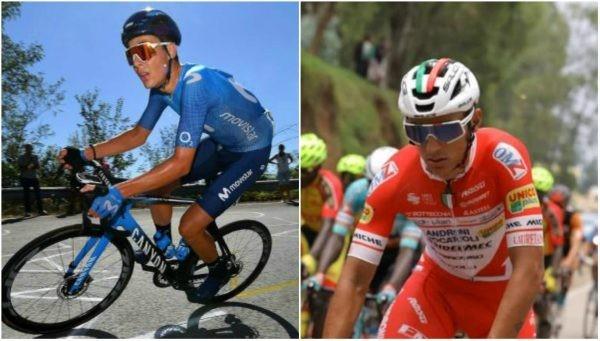 Dos colombianos fueron protagonistas en el Giro de Italia [VIDEO]