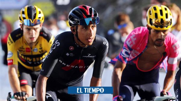 Egan Bernal da por finalizada su temporada del 2020 - Ciclismo - Deportes
