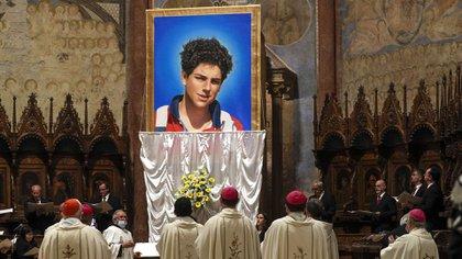 Imagen de la ceremonia de beatificación (AP Photo/Gregorio Borgia)